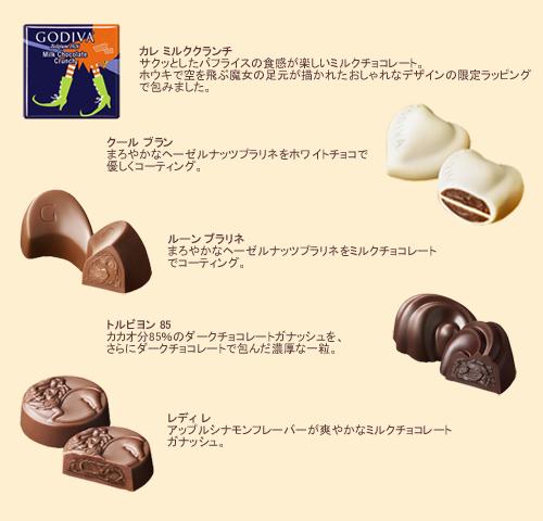 ゴディバ(GODIVA)【期間・数量限定】2014年ハロウィンコレクション