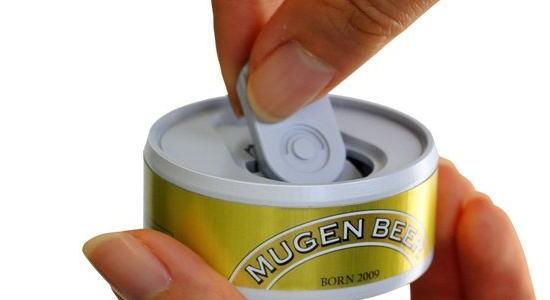 ムゲン缶ビール バンダイ